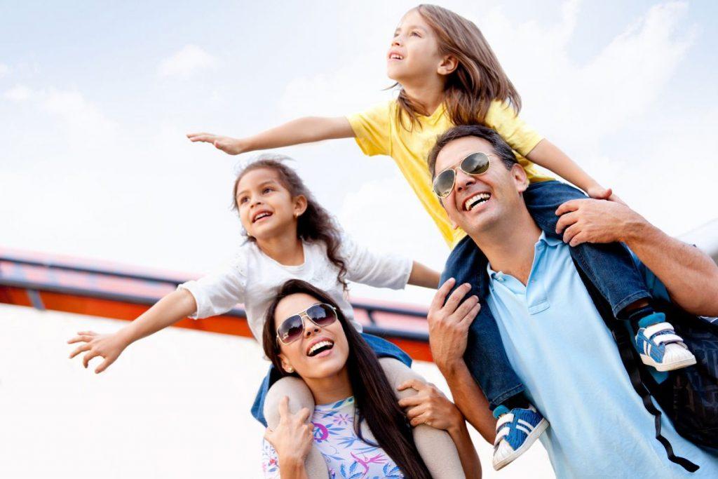 gezins vakantie